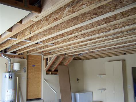 Garage Joists New Floor Joists Replace Garage Trusses Shiloh Builders Llc
