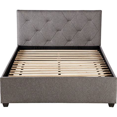 small double ottoman bed anais ottoman small double bed frame dark grey