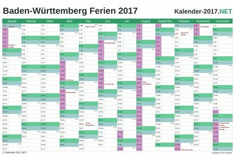 Kalender 2018 Feiertage Ferien Bw Kalender 2017 Zum Ausdrucken Kostenlos
