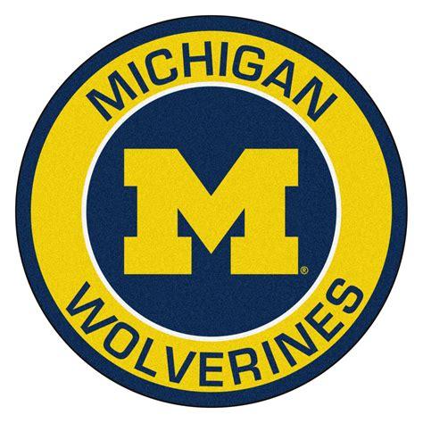 Unique Doormats by University Of Michigan Wolverines Logo Roundel Mat 27 Quot