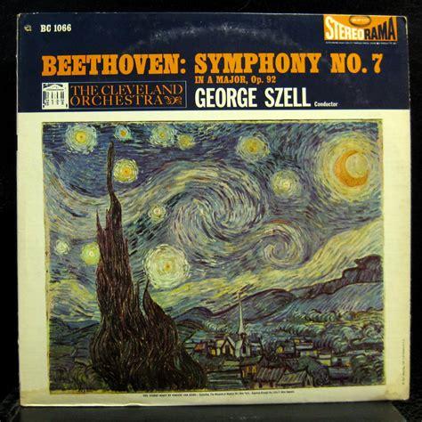 beethoven symphony 7 szell beethoven symphony no 7 lp vg bc 1066 stereo us