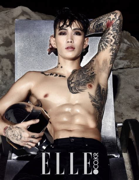 jay park bares his upper body in quot elle quot photoshoot koogle tv