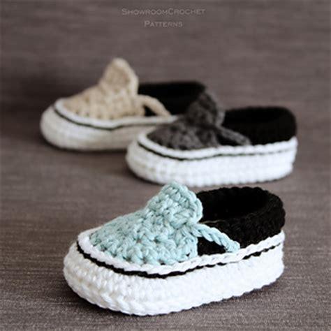 crochet pattern for vans slippers ravelry vans style baby sneakers pattern by showroom crochet