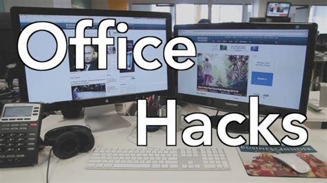 Tidy Home Cleaning watch these office hacks to keep your desk tidy
