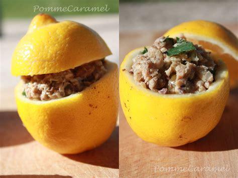 d馗o cuisine originale citrons farcis aux sardines pomme caramel
