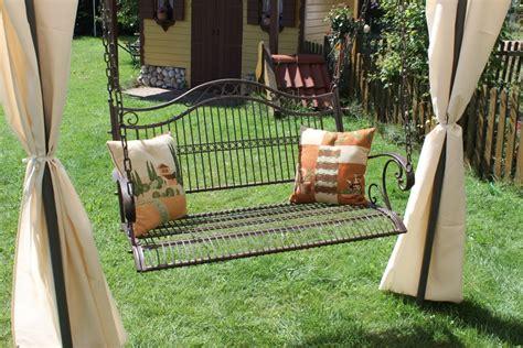 garden swinging bench swing 82505 swinging bench with chains garden swing bench