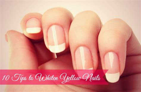 10 Tips For Nails by 10 Tips To Whiten Yellow Nails At Home Top