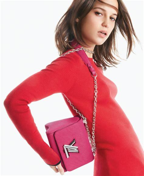 Louis Vuitton Supermodel Caign by Vikander Louis Vuitton Twist Handbag 2016 Caign
