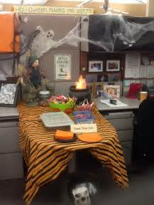 Office Decorations For Halloween Halloween Decor For Office Just For Fun Pinterest