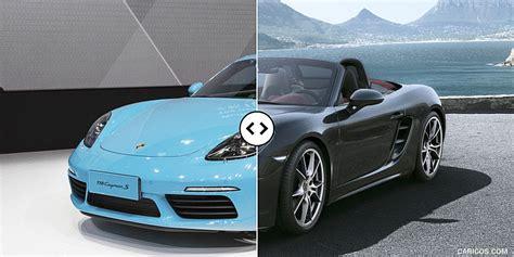 Porsche Boxster S Vs Cayman S by Boxster Versus Cayman Autos Post