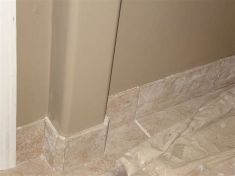 baseboard in bathroom tile baseboards home decor pinterest home design