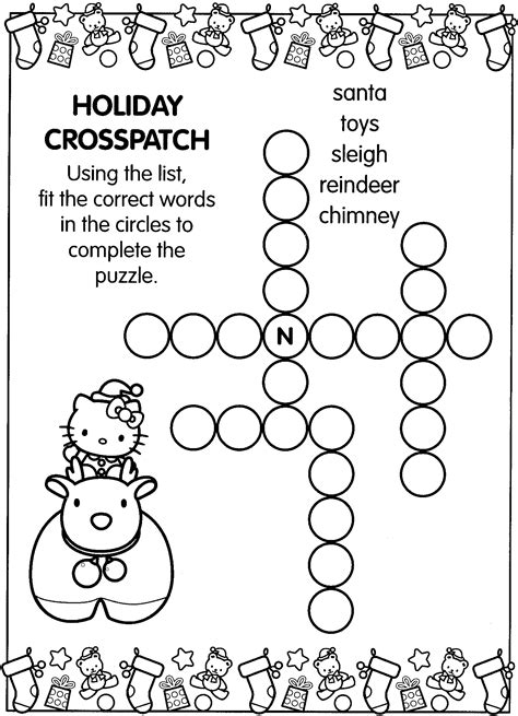hello kitty printable activity sheets free coloring pages of activity