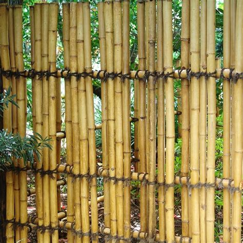 Bamboo Garden Fencing Post : Hot Home Decor   Bamboo Fence