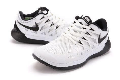 nike free 5 0 running shoes black white nike free 5 0 mens running shoes white black 642198 602