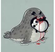 Cute Disturbing Animal Drawings Predator Prey Alex Solis Alexmdc 5