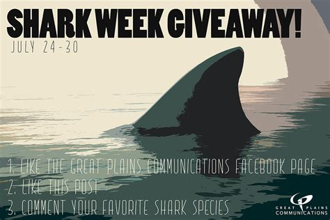 Sharks Giveaway Schedule - 2017 shark week giveaway