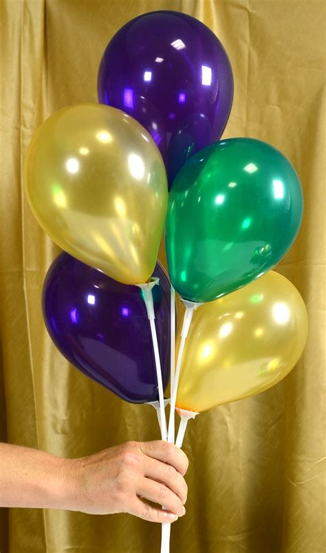 party ideas by mardi gras outlet air filled balloon