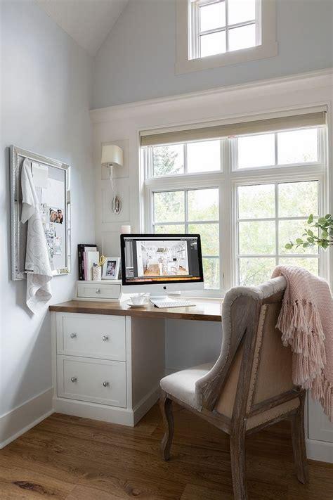 small office built  desk paint color  site white