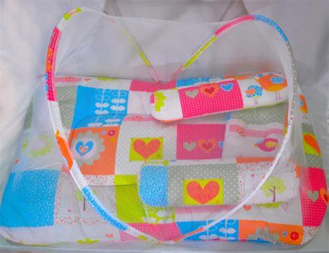 kasur baby lipat kelambu perlengkapan bayi kasur lipat anak baby kelambu