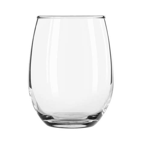 stemless wine glasses libbey 207 9 oz stemless wine glass