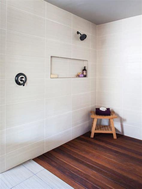 Wood Floor Bathroom Shower photo page hgtv