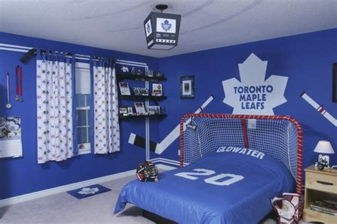hockey bedroom decor hockey time