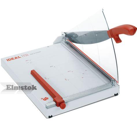 Rotary Trimmer Paper Cutter Ideal 0135 ideal 1134 desktop paper trimmer guillotine elmstok