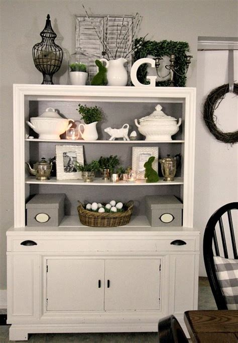 Decorating Ideas For A Kitchen Hutch Easter Home Tour 2016 The Creek Line House