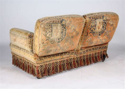 tapestry sofa living room furniture 19th century au bon march 233 moorish tapestry sofa and