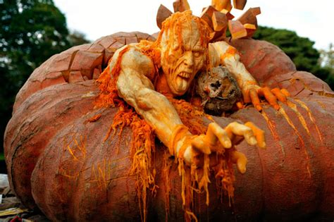 creepy pumpkins 16 disgustingly creepy pumpkin carvings some of these are