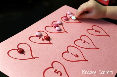 valentines day preschool activities s day math for toddlers and preschoolers