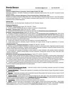 brenda benson 2016 resume with accomplishments