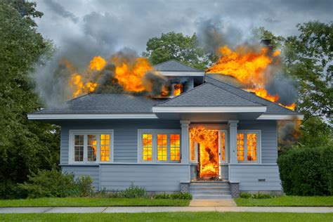 how to burn down a house man ends up burning his house down instead of killing a spider