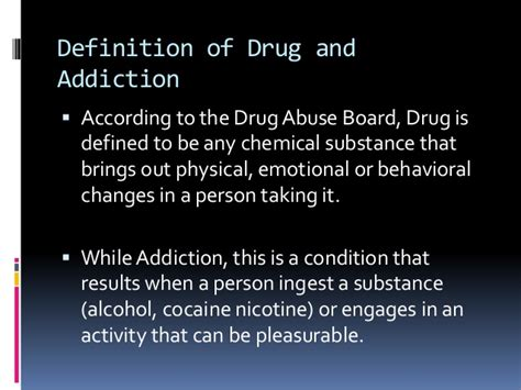 Definition For Detox by Addiction