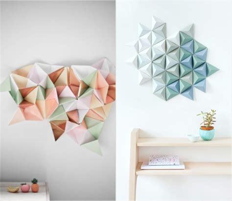 Origami Wall Diy - best 15 of diy origami wall