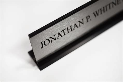 metal office desk office desk name plates custom metal office signs desk