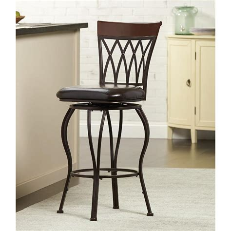 home decorators collection bar stools home decorators collection classic metal swivel bar stool