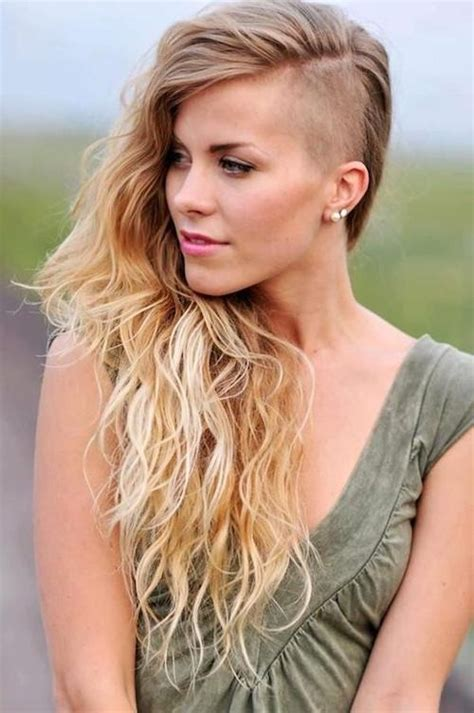 20 collection of shaved long hairstyles 20 ideas of side shaved long hairstyles
