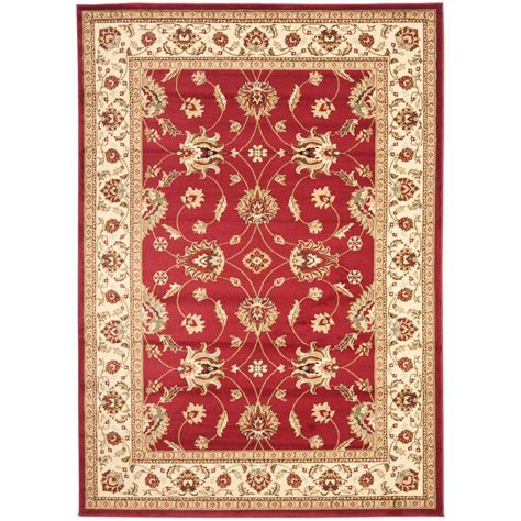 3 X 6 Area Rugs Safavieh Lyndhurst Ivory 5 Ft 3 In X 7 Ft 6 In Area Rug Lnh553 4012 5 The Home Depot