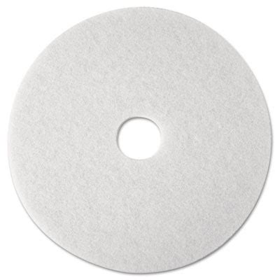 3m White Pad 4100 17 Inch Floor Buffing Pad american paper twine co 3m white floor pad 4100