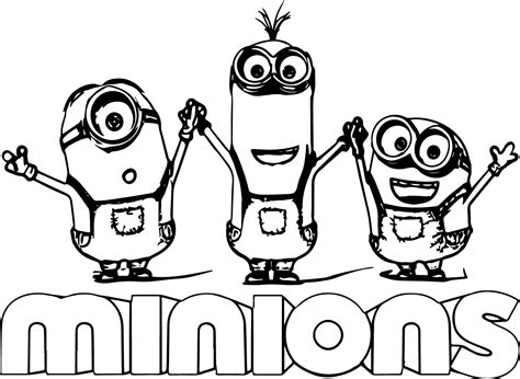 all minions coloring pages minion text minions backyard bash coloring page