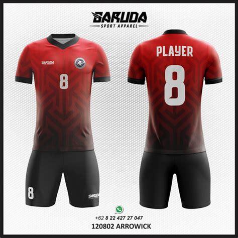 cara desain baju futsal online cara membuat desain baju kaos futsal gradasi warna