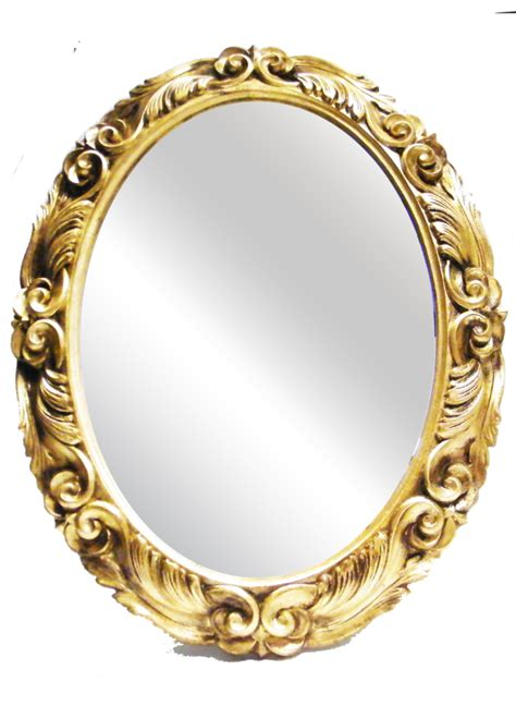 cornice png sp032 oval mirror wooden frame allpe