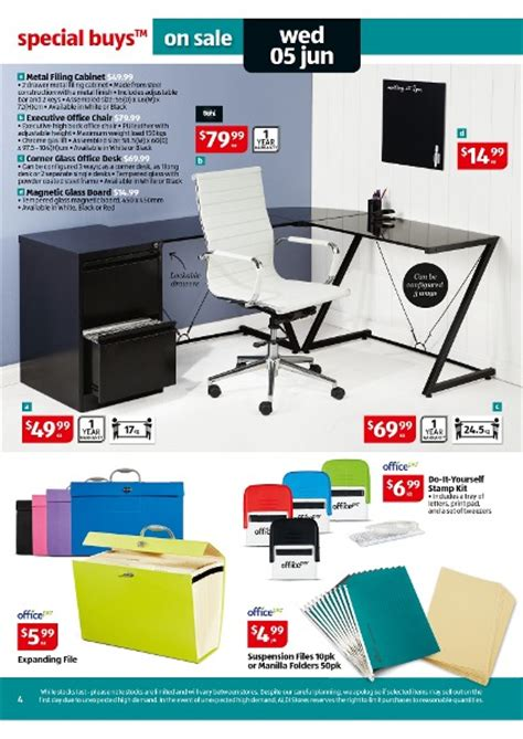 Aldi Filing Cabinet Aldi Catalogue Special Buys Week 23 2013 Page 4