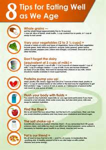 8 tips for well as we age visual ly