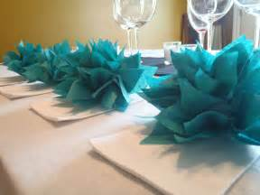 teal wedding decorations decoration