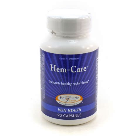 Hem Caren hem care vein health by enzymatic therapy 90 capsules