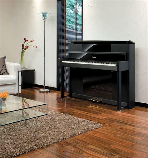 piano in room roland lx 10 digital upright grand piano