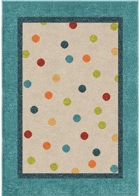 polka dot rug orian rugs polka dots polka multi area rug 3 10 quot x 5