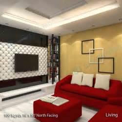 house of l interior design way2nirman 100 sq yds 18x50 sq ft north face house 1bhk elevation view hall interior designs